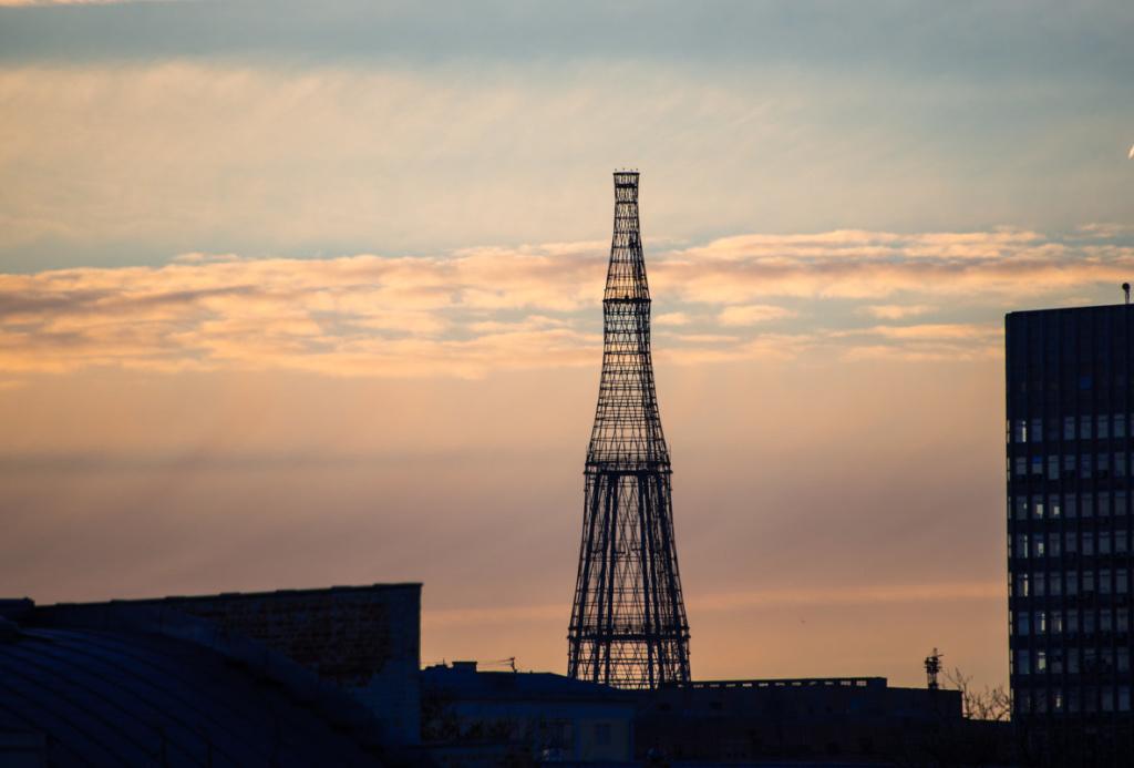 Шуховская башня и не только