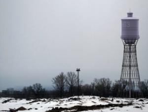 Водонапорная башня в Днепре