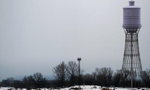 В Днепре блогер нашел остатки забытой водонапорной башни