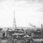 Шуховская радиобашня и ее окрестности
