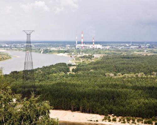 Реконструкция Шуховской башни на Оке завершается