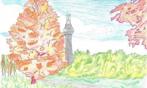 Рисуем Шуховскую башню