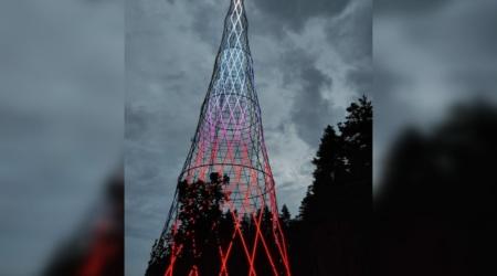 Шуховская башня на Оке