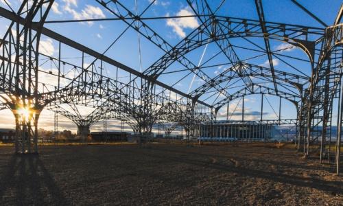 Пакгауз на стрелке в Нижнем Новгороде — реконструкция